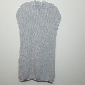 Athleta Sweater Dress Pinewood Ribbed Wool